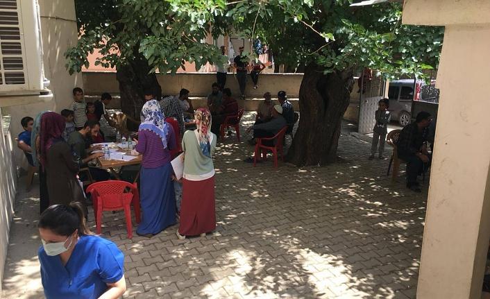 Arıcak'ta aşılama faaliyeti devam ediyor
