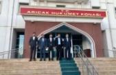 Arıcak Kaymakamı Onur ŞAN'a ziyaret