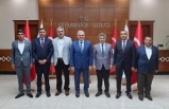 Arıcak Belediye Başkanı  ve Belde Belediye Başkanları Diyarbakır Valisi'ni ziyaret ettiler.