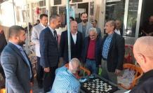 DEVA partisi il teşkilatı Arıcak'ı ziyaret edip HES ile ilgili düşünceleri dinledi.