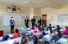 Kaymakam Onur ŞAN, Gümüşyaka İlkokul ziyareti.