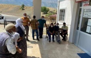 Arıcak'ta aşılama faaliyeti