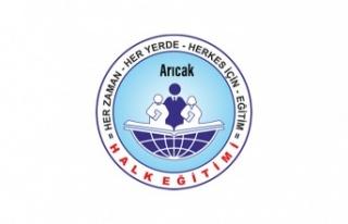 Arıcak Halk Eğitim Merkezinde YKS sınavına hazırlık...