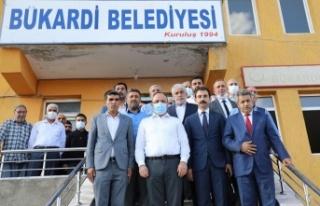 Elazığ Valisi Erkaya YIRIK, Bukardi Beldesini ziyaret...