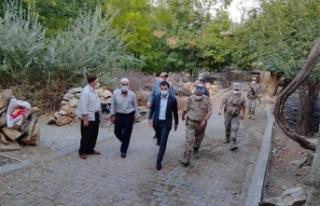 Kaymakam Onur ŞAN Erbağ köyünü ziyaret etti