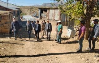 Kaymakam Onur ŞAN Erimli Beldesini ziyaret etti.